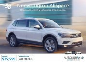 Volkswagen nuevo tiguan allspace autofenix cars