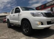 Toyota hilux 4x4 cd diesel tm 2 5 81000 kms cars