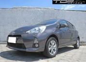 Toyota prius c sport 2013 hibrido 82000 kms cars