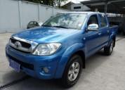 Toyota hilux cd 2009 azul 4x4 229629 kms cars