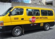 Se vende furgoneta marca nissan urvan 3 0 ano 2008 230000 kms cars