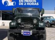Jeep willys 1950 689 000 km.