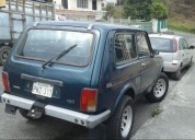 Se vende carro ano 2001 marca niva 4x4 cars