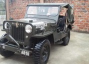 Excelente jeep willys 150000 kms cars