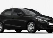 Mazda 2 gasolina negro autofenix cars