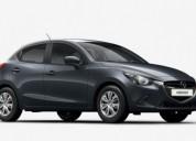 Mazda 2 gasolina 2018 gris cars