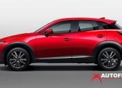 Mazda cx3 grand touring ta rojo autofenix cars