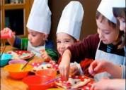 Cursos permanentes de cocina solo para ninos y ninas exclusivos norte de quito