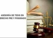 Asesoria tesis derecho penal ambiental judicial jurisprudencia