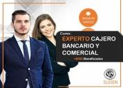Curso experto cajero bancario y comercial empleo seguro