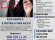 Amplia tu negocio asesores empresarial en calidad procesos iso 9001 2015