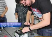 Curso de redes de fibra optica gpon y ftth