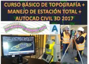 Curso de topografia y civil 3d 2017