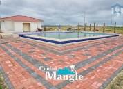 terreno en venta junto al mar montecristi manabi