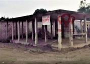 Terreno esquinero a la venta 440 m2 con columnas en pasaje en machala