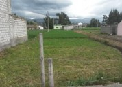 Se vende lindo terreno en latacunga