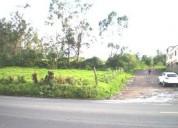 En venta terreno cuendina via amaguana 22 valle de los chillos quito