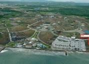 Venta de terreno frente al mar ciudad del mar ubicado en manta