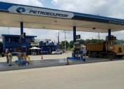 Gasolinera en portoviejo