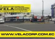Vendo propiedad altamente comercial en la av tsachila diagonal a la tribuna en santo domingo