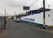 Venta de galpon comercial e industrial en la via daule en guayaquil