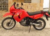 Kawasaki klr 650 ano 2009 en ibarra