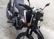 Vedo moto reger 200 nueva informacion en manta