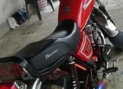 Moto thunder en el carmen