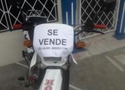 Vendo moto honda en milagro