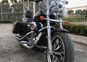 Harley davidson sporster en el empalme