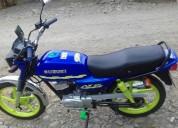 Suzuki ax 100 2007 en la maná