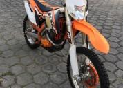 Vendo moto ktm 350 ano 2014 en ibarra