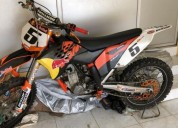 Vendo moto ktm cross en calvas