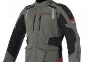 Casaca chaqueta chompa motocicleta alpinestar drystar andes ii talla m color verde en cuenca