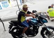 Moto yamaha copiloto de arta demencia en milagro