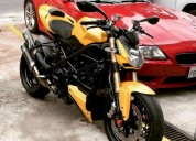 Ducati streetfighter 2013 moto flamante en quito