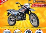Motocicleta oferta limitada solo credito directo imp chimasa en guayaquil