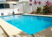 Alquilo villa totalmente amoblada con piscina 5 dormitorios