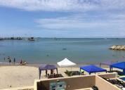 Alquilo departamento frente al mar en club privado puerto lucia salinas 3 dormitorios