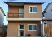 Acogedora casa de dos pisos en conjunto residencial en la via playasdata 3 dormitorios