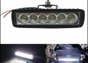 Halogeno barra led 18w neblinero autos moto 4x4 en quito