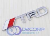 Emblema trd auto adhesivo para toyota trailers