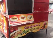 Excelente carro de comidas food truck trailers - remolques