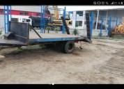 Minicargadora tractor agricola remolque trailers - remolques