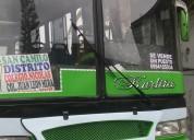 Venta de excelente bus hino fc 98 trailers - remolques