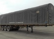 Vendo plataforma con caravana trailers - remolques