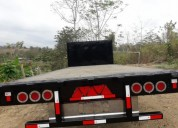 Vendo plataforma de 2 50 x 6 50 largo trailers - remolques