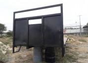 Se vende plataforma metalica trailers - remolques