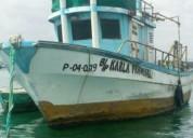 Se vende barco de fibra de vidrio