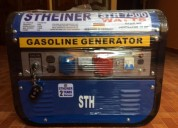 Generador stheiner aleman a gasolina 7500 w new modelo barcos y lanchas
